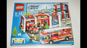 100 Lego Fire Truck Instructions Lego City Fire Station 7208 Instructions Di