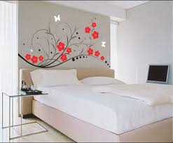 Wall Painting Designs For Bedroom Prepossessing Ideas Glamorous With