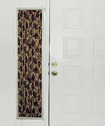 Sidelight Curtain Rods Magnetic by Curtains In Christmas Prints