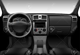 camion intérieur vue à l intérieur de la voiture le tableau de