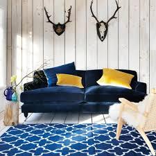 canap bleu clair canap bleu ptrole beautiful shell canap places fixe en tissu bleu