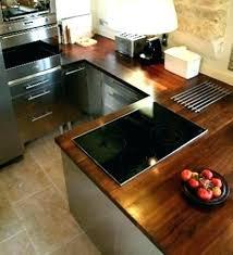 plan de travail cuisine bois brut plan de cuisine bois cuisine bois massif moderne plan de travail