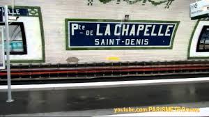 metro denis porte de porte de la chapelle métro de line 12