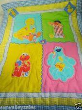 sesame street cotton blend nursery bedding ebay
