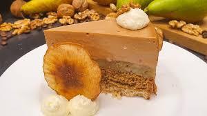 wir in bayern rezept walnuss birnen kaffee torte