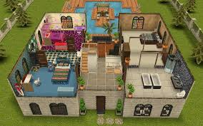 Sims Freeplay Second Floor Stairs by Awesome Designer Home Sims Freeplay Gallery Decorating Design