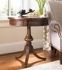H Contract Furniture Pedestal Accent Table 500 50 828