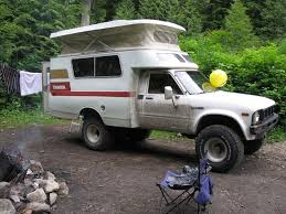 1976 Toyota Chinook Shell On A 1980 Toyota Longbed 4x4 Pickup ...