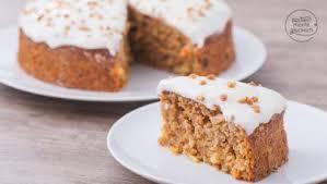 apfel möhren kuchen ohne zucker backen macht glücklich