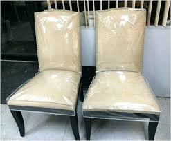 Clear Vinyl Dining Room Chair Covers Awesome Plastic Seat For Chairs Fascinating Dini Exciting