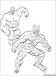 The Hulk Coloring Game For Boys