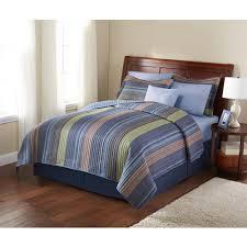 Walmart Headboard Queen Bed by Mainstays Aztec Stripe Printed Quilt Full Queen Walmart Com