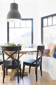 How To Design A Beautiful Kitchen Banquette Modern Farmhouse Black Dining Room Chairs Oval Wood Pedestal