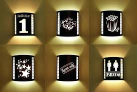 theater wall sconces home theater lighting from cinema