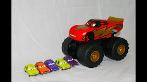 100 Monster Truck Mater Cars XL Talking Lightning McQueen In