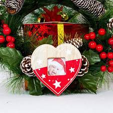 Christmas Tree Decorations Photo Frame Baby Gift Tags Pendant Drop Ornaments Diy Craft Outdoor In