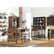 rustic desks home office furniture the home depot