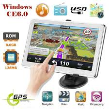 100 Truck Gps System Details About X8 7 Ultra Thin Car GPS Navigation 8GB GPS Navigator Free Map