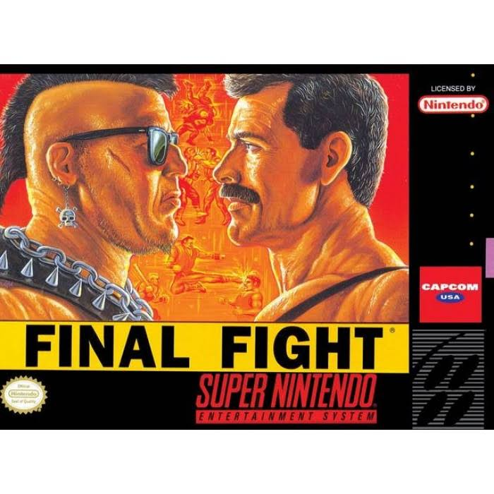Final Fight - Nintendo SNES