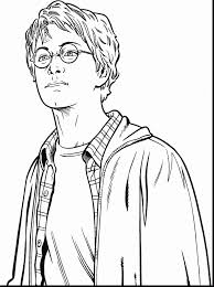 Outstanding Harry Potter Coloring Page With Pages