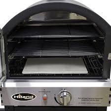 Hiland Patio Heater Manual by Amazon Com Hiland Psl Spoc Az Patio Heaters Pizza Oven Black