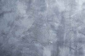 Blue Scratched Texture Concrete Wallpaper Feature Wall