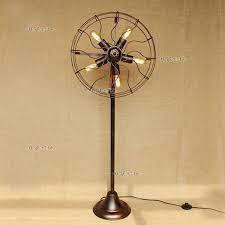 retro floor fan vintage stand industrial deco to design ideas
