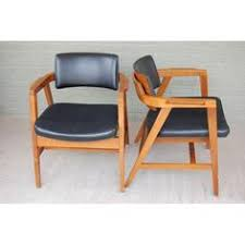 Wh Gunlocke Chair Co Wayland gunlocke cream accent chair with mahogany by britterdesigns