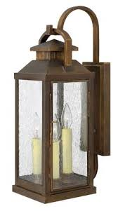 view the hinkley lighting h2454 27 height 3 light lantern outdoor