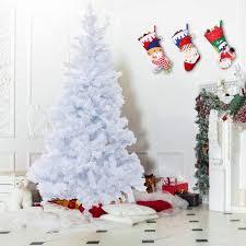 Costway Costway 7Ft PVC Artificial Pencil Christmas Tree Slim W