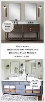 Restoration Hardware Mirrored Bath Accessories by Knockoff Restoration Hardware Bristol Flat Mirror Diy Modern