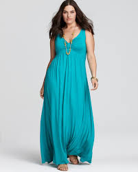 melissa masse plus size sleeveless knot front maxi dress plus