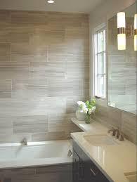 simple tile that looks like wood in shower barn on design
