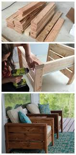 Modern Outdoor Chair Plans Free By Ana-white.com ...
