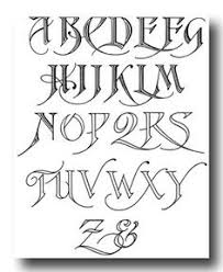 Tattoo Font Generator Free Fancy Cursive Tatto Letters To Locate A