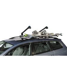 porte skis sur barres de toit norauto alaska 600 pour 6 paires de