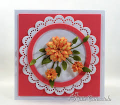Its So Fun And Easy To Make Handmade Die Cut Paper Flowers