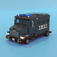 100 Swat Truck For Sale SWAT 3D Model 15 Lxo Obj Lwo Fbx Dae Free3D