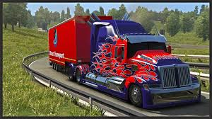 ☆ Euro Truck Simulator 2 ☆ - Optimus Prime - Transformers 4 ... Transformers Optimus Prime Battle Truck Buy Online In South Defends Kennedy Space Center 3 Filming Toy News Tribute Movie Anniversary Edition Truck Nyc Youtube Dark Of The Moon Da03 Mtech Trailer Prime Bayverse Pinterest Alanyuppies Lego The Last Knight Replica To Attend Tfcon Charlotte Optimus Prime Truck By Goreface13 On Deviantart Wallpaper Wallpapersafari Revenge Fallen Leader Amazonco Amazoncom Western Star 5700 Xe