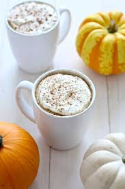 Nonfat Pumpkin Spice Latte Recipe by Pumpkin Spice Lattes With Real Pumpkin Puree The On Bloor
