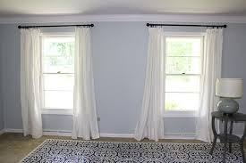 Ikea Lenda Curtains Beige by Ikea Hack For Long Beautiful Curtains Jolly Little Times
