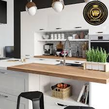 moderne landhausküche limba wohnküche küchenzeile mit kochinsel weiß hochglanz weiß mit patina