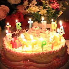 big birthday cake candles