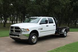 2018 Ram 3500 Crew Cab 4WD Flat Bed Diesel Price - Used Cars Memphis ...
