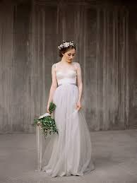 Icidora Romantic Wedding Dress Grey Ballet