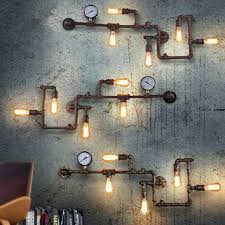 best 25 industrial wall lights ideas on vintage wall