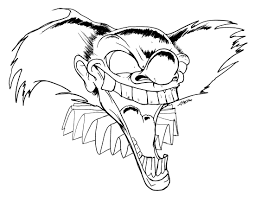 Scary Halloween Coloring Pages To Print by Scary Halloween Skulls Coloring Pages At Eson Me