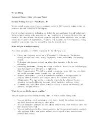 Freelance Resume Writing Technical Writer Samples Creative Sample