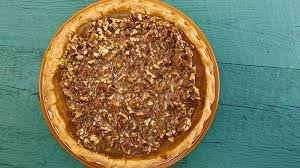 Pumpkin Pie With Pecan Praline Topping how to make store bought pies fancy