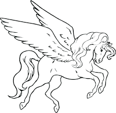 Unicorn Coloring Pages Pink